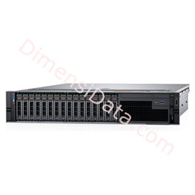 Jual Rack Server DELL PowerEdge R740 2U [2x Xeon Silver 4114, 8x16GB, 4x300GB]